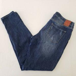 Dear John Vyronas Distressed Skinny Jeans